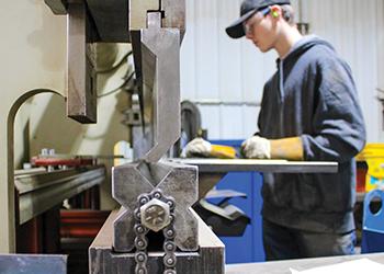 Bemidji Steel worker