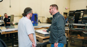 Herold Precision Metals discussing fabrication