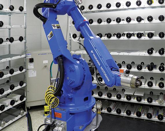 Lowell Inc Laser Robot