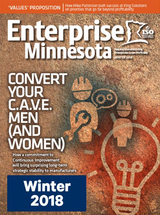 Enterprise Minnesota Magazine, Winter 2018 edition