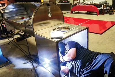 Cajun Custom Cookers - welding