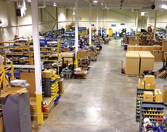 Engage Technologies Corporation Shop Floor