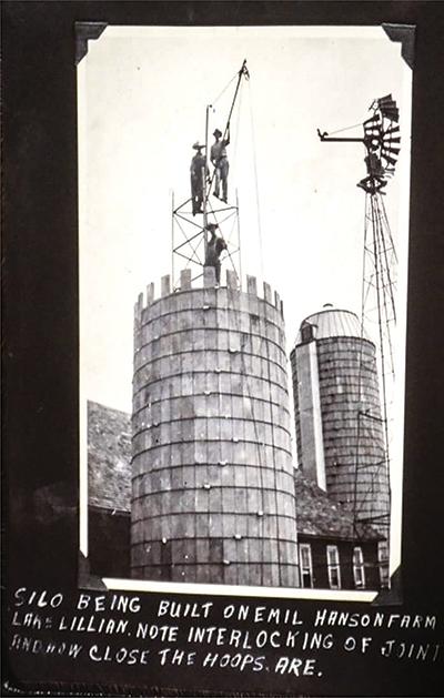 Hanson Silo archive photo