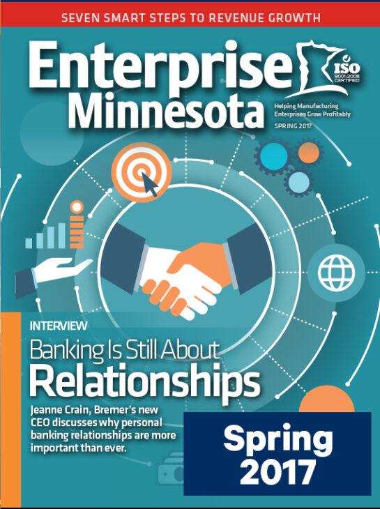 Enterprise Minnesota magazine Spring 2017 cover