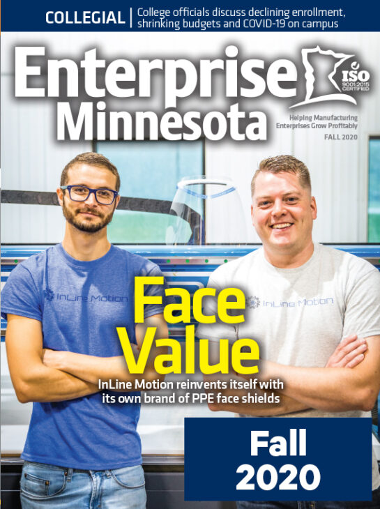 Enterprise Magazine Fall 2020 Cover