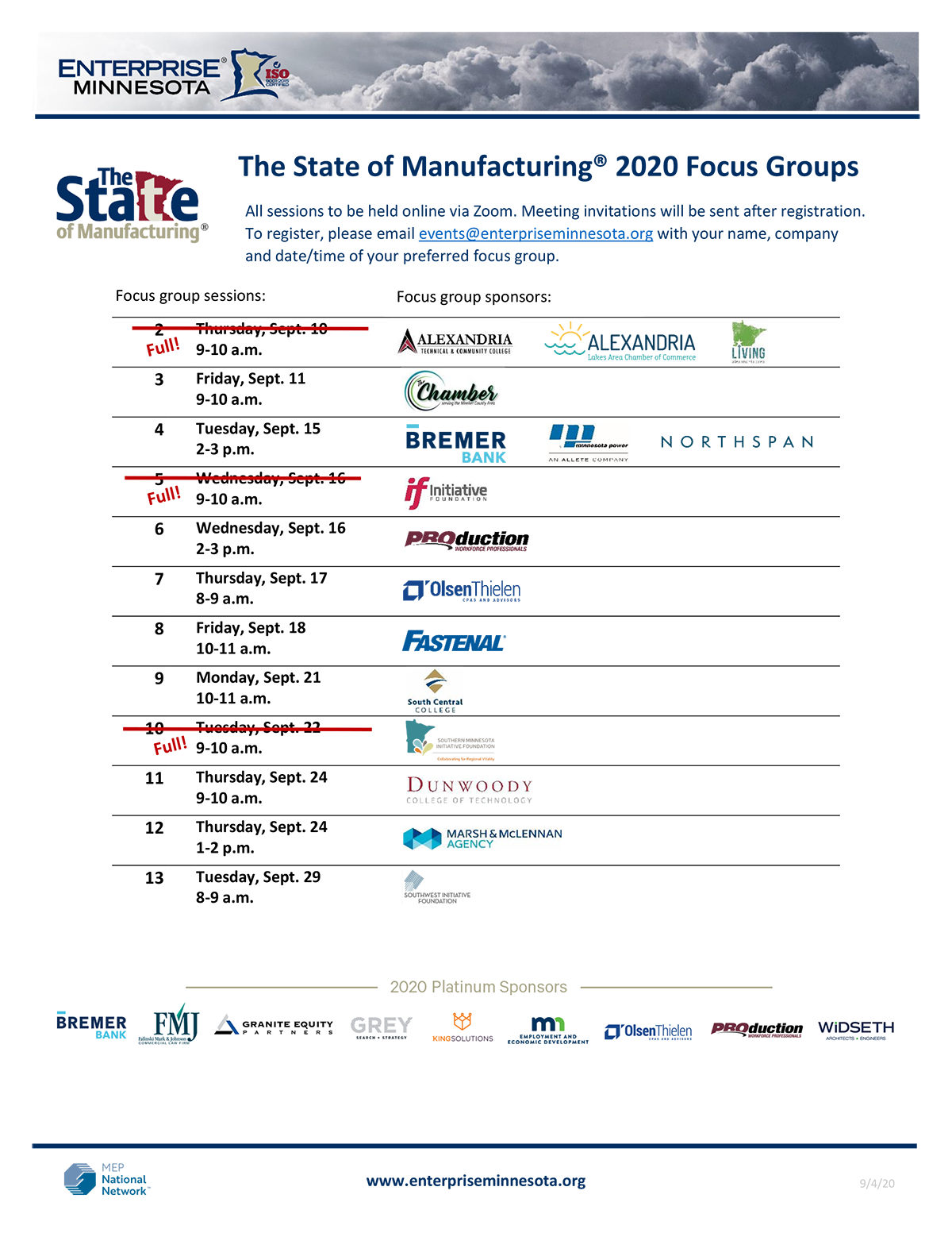 The State of Manufacturing 2020 Focus Groups Fall (004)