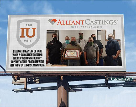 Alliant Casting - Billboard - Winter 2020