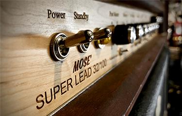 Vintage Voltage Amp detail - Winter 2020