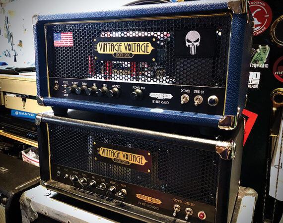 Vintage Voltage amplifiers