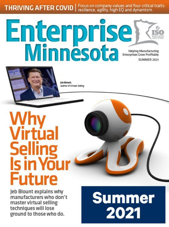 Cover of Enterprise Minnesota Magazine - Summer 2021 issue