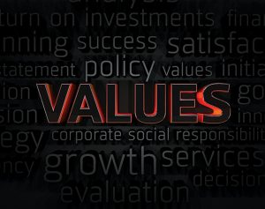 Moving Forward - using corporate values to drive growth