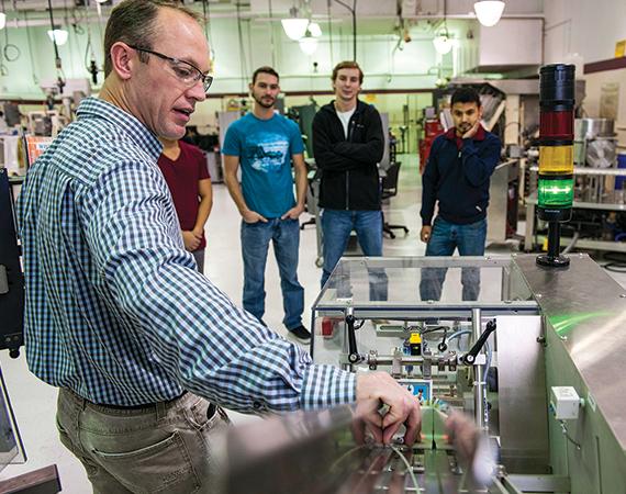 Next Gen - Jeff Thorstad of HTC demonstrates a machine