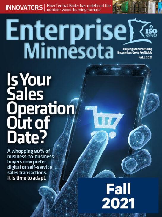 Fall 2021 issue cover - Enterprise Minnesota Magazine
